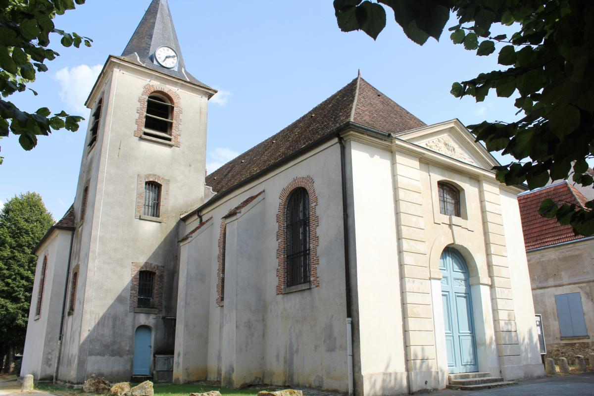 église de Guermantes