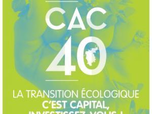 Affiche CAC 40